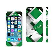 AIKUSU ® 아이폰 5/5S KSCT0013위한 혼합 컬러 디자인 핸드폰 스킨 커버