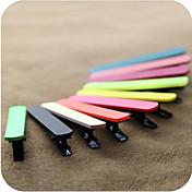 Color caramelo Duckbill Edge horquillas de clip