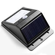 4 Wireless Solar Bright LED Desarrollado sensor de movimiento de la lámpara de pared