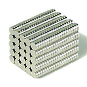 Magnetiske leker Byggeklosser Neodym-magnet Executive Leker NdFeB Neodymium-magneter Supersterke neodyme magneter 200pcs 3*1mm Magnet GDS