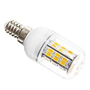 SENCART 5W 450-500 lm E14 LED-kornpærer T 42 leds SMD 5730 Varm hvit AC 12V