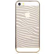 Etui Til iPhone 5 Apple Etui iPhone 5 Gjennomsiktig Mønster Bakdeksel Linjer / bølger Hard PC til iPhone SE/5s iPhone 5