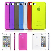 Funda Para iPhone 4/4S Apple Funda Trasera Suave ordenador personal para iPhone 4s / 4