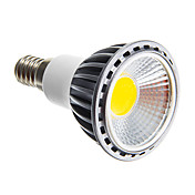 6W 250-300 lm E14 E26/E27 Focos LED leds COB Regulable Blanco Cálido Blanco Fresco AC 220-240V