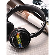 MRH-8803 Sobre el oído Cinta Con Cable Auriculares Dinámica El plastico Teléfono Móvil Auricular Con control de volumen Con Micrófono