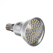 4W 2800lm E14 Focos LED PAR38 60 Cuentas LED SMD 3528 Blanco Cálido 220-240V