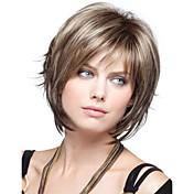 pelucas de cabello sintético corta mujeres de la señora