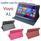 original stand pu cuero proteger la cubierta del caso de tableta voyo pc a1