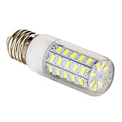 3.5W 300-350lm E26 / E27 Bombillas LED de Mazorca T 48 Cuentas LED SMD 5730 Blanco Natural 220-240V