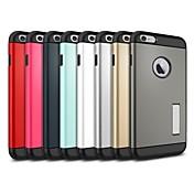 아이폰 6 플러스 킥 스탠드 기능과 슬림 맞는 듀얼 레이어 보호 케이스 (5.5) (모듬 색상)