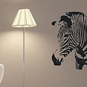 벽 스티커 벽 데칼, 얼룩말 홈 인테리어 kidsroom 벽화의 PVC 벽 스티커