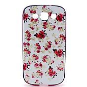 용 삼성 갤럭시 케이스 패턴 케이스 뒷면 커버 케이스 꽃장식 PC Samsung S3