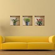3D Pegatinas de pared Calcomanías 3D para Pared Calcomanías Decorativas de Pared, Vinilo Decoración hogareña Vinilos decorativos Pared