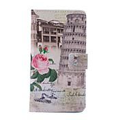 Para Samsung Galaxy Note Cartera / Soporte de Coche / con Soporte / Flip / Diseños Funda Cuerpo Entero Funda Ciudad Cuero Sintético