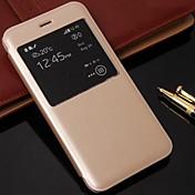 beittal® estilo simple cubierta de cuero de la PU para iPhone6 más (color clasificado) ip6plusjyfpt