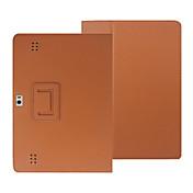 Funda Para Huawei Funda de Cuerpo Entero Casos Tablet Color sólido Dura Cuero de PU para