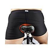 WOSAWE Shorts Inferiores de Ciclismo Hombre Mujer Bicicleta Pantalones Cortos Acolchados Shorts/Malla corta Pantalones cortos Ropa