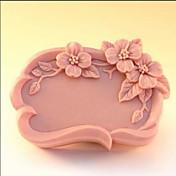 Bakeform Blomst Sjokolade Til Småkake Kake Silikon Gummi Økovennlig Høy kvalitet Non-Stick