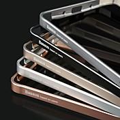 caso duro baseus® ultrafina aleación de aluminio aeroespacial marco de parachoques para la galaxia nota 4 (colores surtidos)