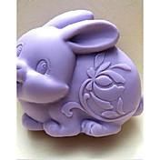 Herramientas para hornear Goma de Silicona Ecológica / Antiadherente Pastel / Galleta / Chocolate Animal Molde para hornear 1pc