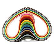 120pcs 3mmx53cm Quilling de papel (pcs x5 24 de color / color) del arte de DIY decoración del arte