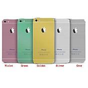 1 stk Hud Klistremerke til Motstår Risser Ensfarget Mønster iPhone 4/4S