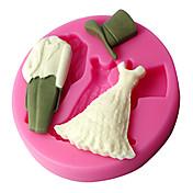 1pc Nyhet Kake Plast Høy kvalitet Cake Moulds