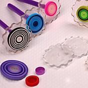 los rollos en forma de flor de paleta de papel quilling de papel del arte de DIY decoración del arte