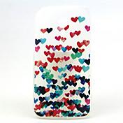 모토로라 (G2)을위한 다채로운 심장 패턴 초박막 TPU 소프트 백 커버 케이스