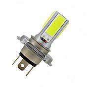3.5W 300-350 lm H4 Dekorations Lys 4LED leds COB Kjølig hvit DC 12 V