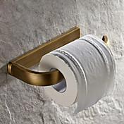 Toalettrullholder / Antikk Messing Antikk