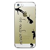용 아이폰7케이스 / 아이폰7플러스 케이스 / 아이폰6케이스 / 아이폰6플러스 케이스 투명 / 패턴 케이스 뒷면 커버 케이스 단어 / 문구 하드 PC 용 Apple아이폰 7 플러스 / 아이폰 (7) / iPhone 6s Plus/6 Plus /