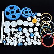 80 typer plast utstyr motor utstyr girkasse pakke robot tilbehør kit