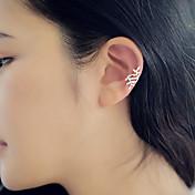 Mujer Pendientes cortos / Puños del oído - Plata / Dorado Para Diario / Casual