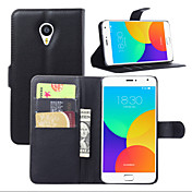 MEIZU의 MX4 프로에 적합한 오픈 브라켓 가죽 전화 지갑 카드 주위에 열매 (모듬 된 색상)
