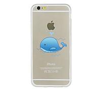 Para Funda iPhone 5 Ultrafina Transparente Diseños Funda Cubierta Trasera Funda Animal Suave TPU para iPhone SE/5s iPhone 5