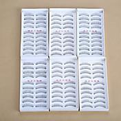 Pestañas Pestaña Pestañas Completas Ojos Pestaña Entrecruzadas Grueso Longitud Natural Natural Rizado Grueso Manual Microfibra Black Band