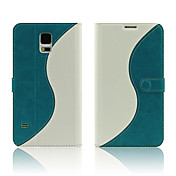 caso duro del tpu tochic con soporte para Samsung i9600 galaxy s5 (colores surtidos)