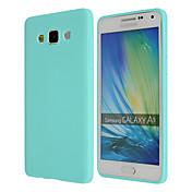 Etui Til Samsung Galaxy Samsung Galaxy Etui Ultratynn Bakdeksel Helfarge TPU til A8 A7 A5