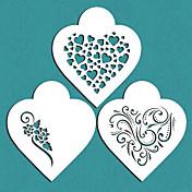 Valentinsdag Gave Moderne Hjerter Kjeks Sjablong For Kake Dekorere, St-671