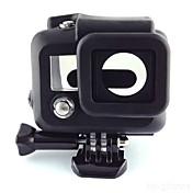 Glatt Ramme Beskyttende Etui Praktiskt Til Action-kamera Gopro 3 Silikon