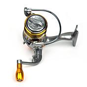Carrete de la pesca Carretes para pesca spinning 5.2:1 13 Rodamientos de bolas IntercambiablePesca de Mar Pesca en General Pesca en Bote