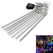 Faste LED-lysstriper 160 LED RGB Hvit Blå Vanntett 100-240V