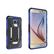 용 Samsung Galaxy Note 스탠드 케이스 뒷면 커버 케이스 갑옷 PC Samsung Note 5