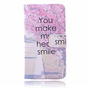 Etui Til Samsung Galaxy Samsung Galaxy Etui Kortholder Lommebok med stativ Flipp Heldekkende etui Blomsternål i krystall PU Leather til