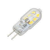 G4 Luces LED de Doble Pin Luces Empotradas 12 leds SMD 2835 Decorativa Blanco Cálido Blanco Fresco 100-200lm 3500/6500K DC 12 AC 12V