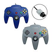 N64 PS/2 Controles para Nintendo Wii 180 Empuñadura de Juego Con cable #