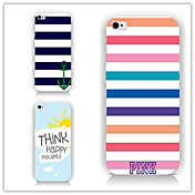 Funda Para Apple iPhone 6 iPhone 6 Plus Diseños Funda Trasera Líneas / Olas Dura ordenador personal para iPhone 6s Plus iPhone 6s iPhone