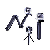 Håndgrep / Stativ Justerbar / Alt i en Til Action-kamera Gopro 6 / Alle / Gopro 5 Plast / Aluminiumslegering - 1 pcs / Gopro 4 / Gopro 3
