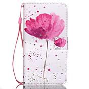 Funda Para Samsung Galaxy Funda Samsung Galaxy Cartera / Soporte de Coche / con Soporte Funda de Cuerpo Entero Flor Cuero de PU para S6 edge plus / S6 edge / S6
